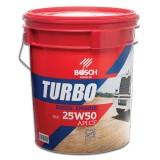 روغن موتور بوش توربو دیزل 25W50 CF سطل قرمز 20 لیتری