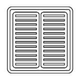 فیلتر هوا شهاب - نیسان پاترول 4 سیلندر